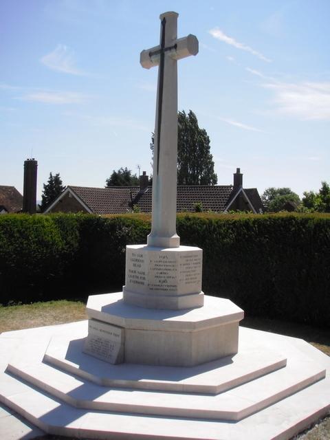 Great Chart war memorial -restored.jpg